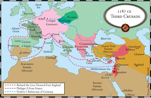 jerusalem europe map with Os 16 3rd To 5th Crusade on OS 16 3rd To 5th Crusade besides Neuschwanstein Castle also Haifa Isr Ha H also Ancient Greece  Greek World further File Historical Map Of Sicily Bjs 1.