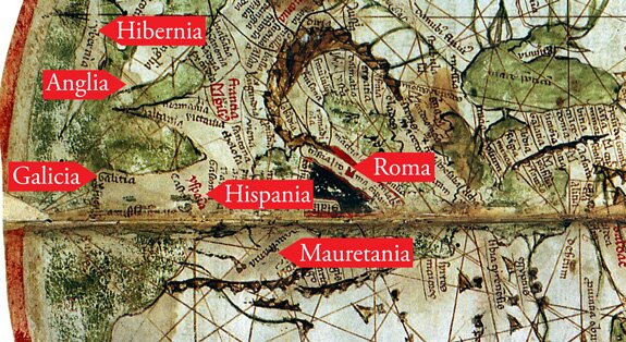 Crossing the ocean sea fourteenth century maps and charts the next example is a portolan of the atlantic drawn in 1321 and signed by perrino vesconte historians do not know if the name is a diminutive version of gumiabroncs Image collections