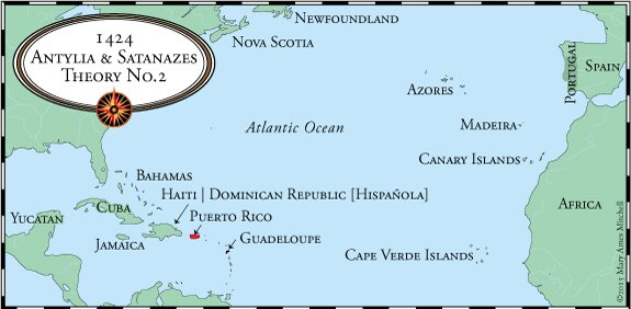 Crossing the Ocean Sea - The Mythical Atlantic Islands