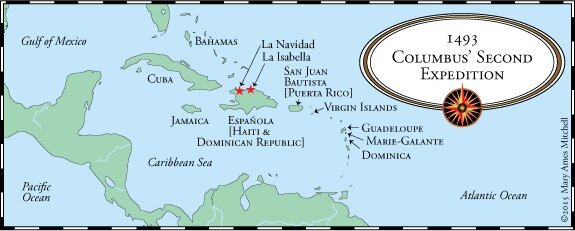 christopher columbus expedition of the island of cuba Columbus, christopher: voyages to the new world   on oct 27 he sighted cuba and on dec 5  on his third expedition, in 1498, columbus was forced to transport.