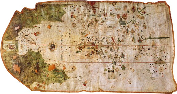 Crossing The Ocean Sea Maps After Columbus - Columbus maps