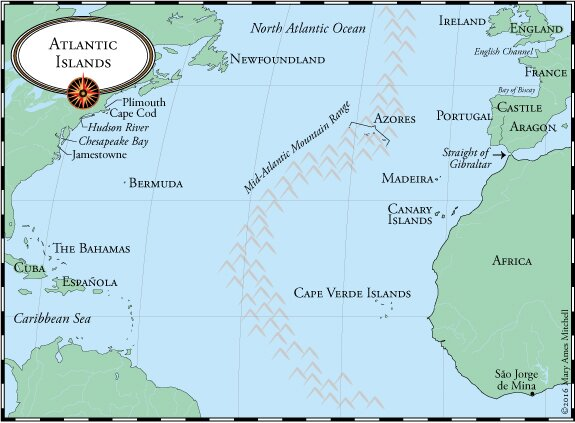 Map Of Atlantic Ocean In Azores Pictures to Pin on ...