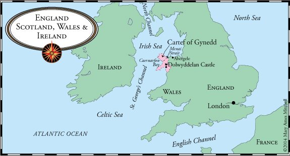 synopsis about the castles of wales Beaumaris, begun in 1295, was the last and largest of the castles to be built by king edward i in wales raised on an entirely new site, without earlier buildings to fetter its designer's.