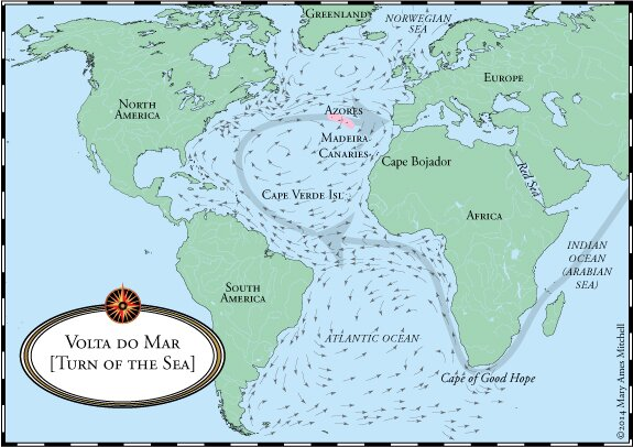 Crossing The Ocean Sea The Real Atlantic Islands - Map portugal madeira azores